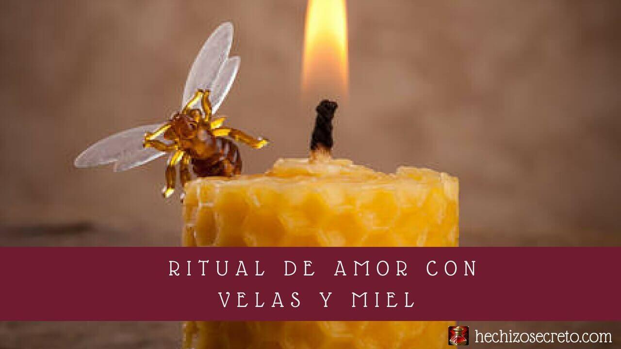 Poderoso ritual de amor con velas y miel - Velas de miel ...