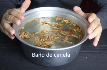 Baño de canela