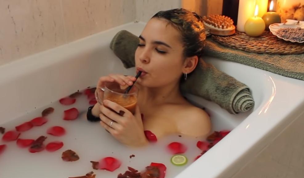 baño de descarga