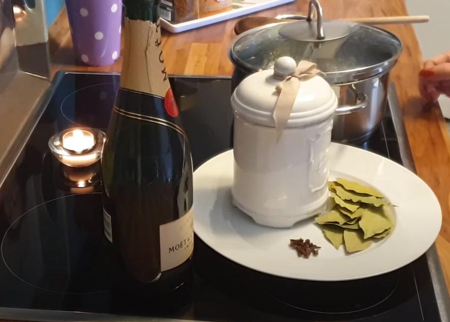 el Baño de champaña