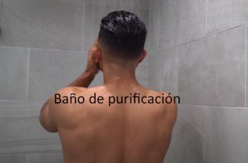 el baño de purificación
