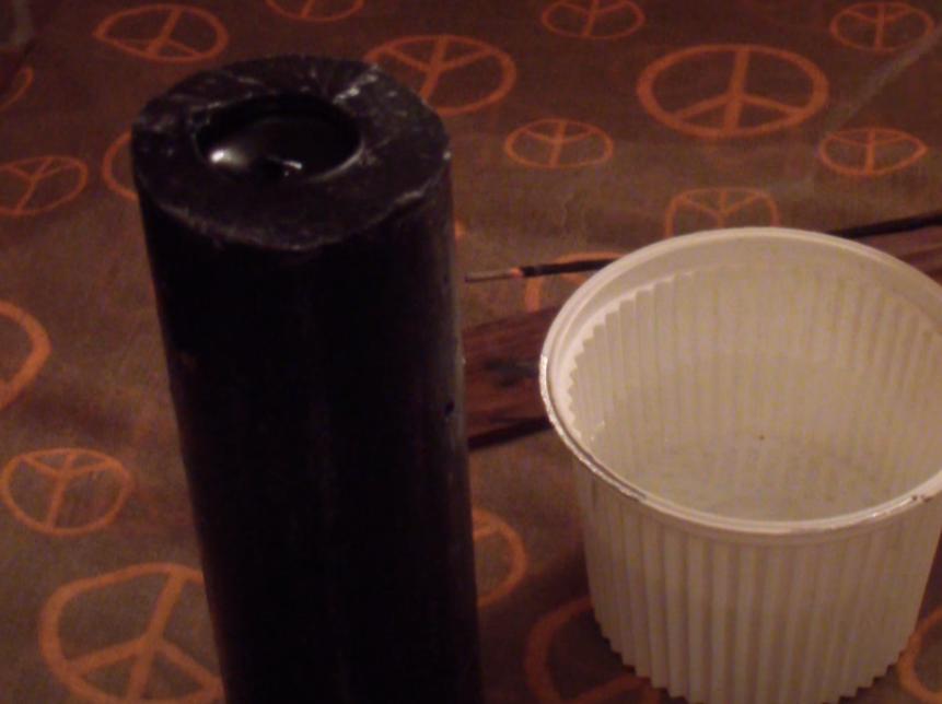 Ritual con vela negra