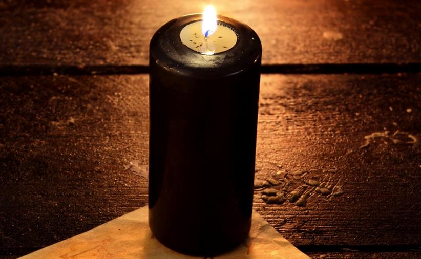 Ritual con velas negras para alejar el mal