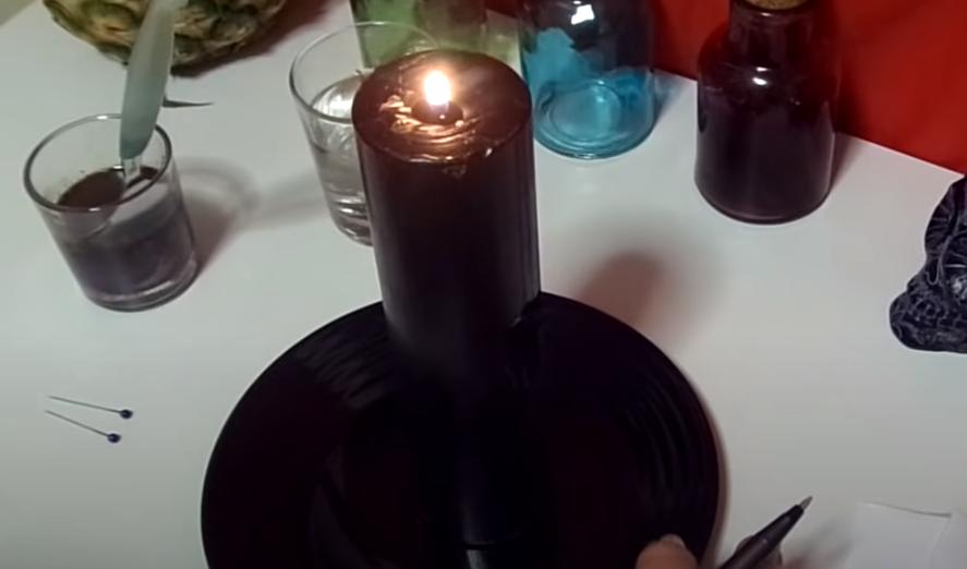Rituales con vela negra
