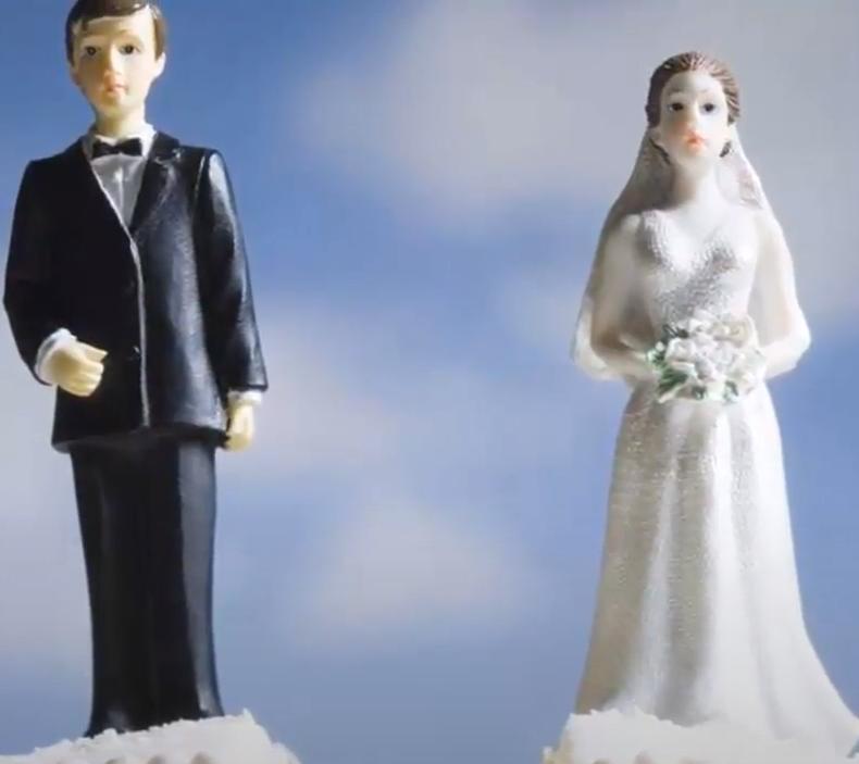 Ritual para terminar un matrimonio con agua