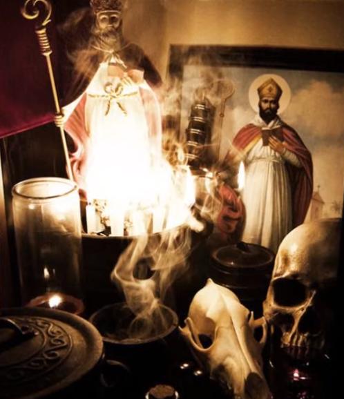 el ritual de San Cipriano