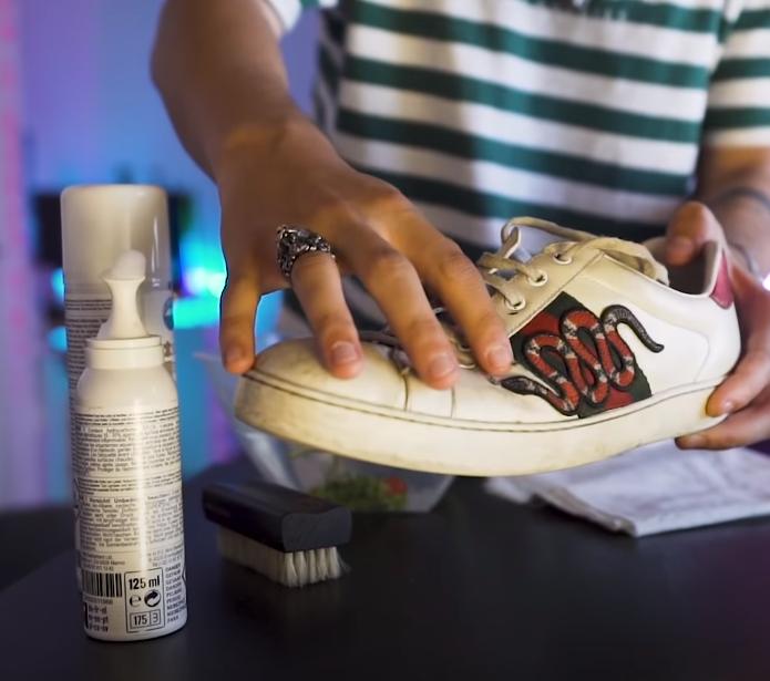 ritual con el zapato