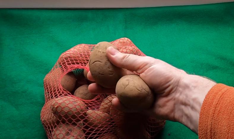 ritual de las patatas inglesas