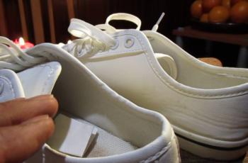 ritual de los zapatos de chancleta