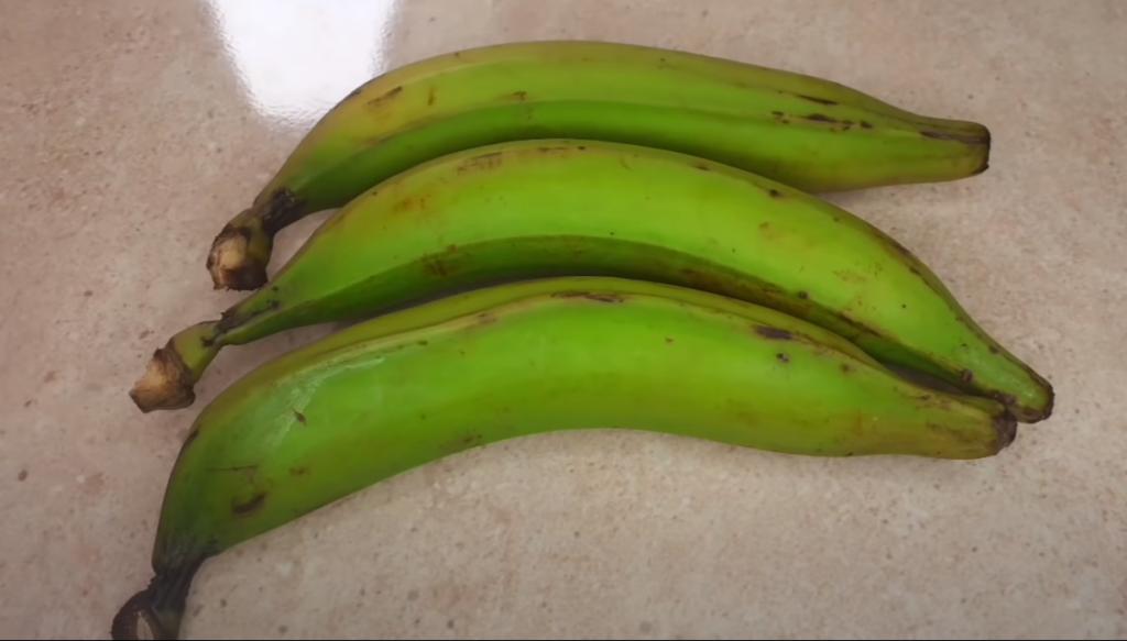 ritual del plátano verde
