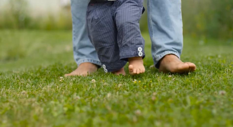 el ritual para que el bebé camine