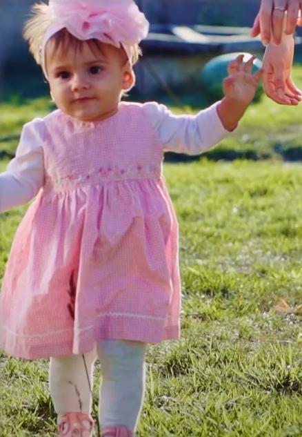 ritual para ayudar a que el bebé camine