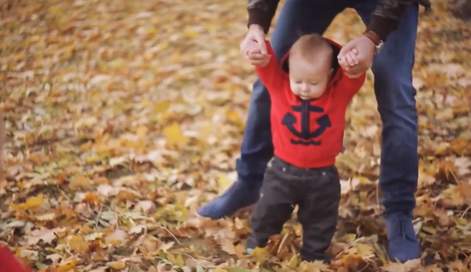 ritual para que el bebé camine